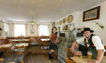 Gaststube im Gasthaus Hilger